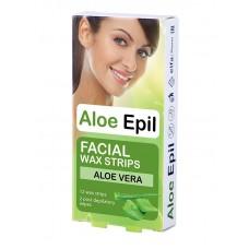 Aloe Epil Depilačné voskové pásiky 12+2