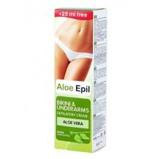 Aloe Epil Depilačný krém  pre oblasti bikín a podpazušia 125 ml