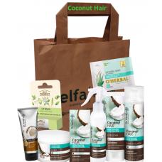 Dr. Santé darčeková taška 8ks Coconut