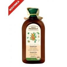 Green Pharmacy šampón pre suché a poškodené vlasy 350 ml