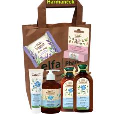 Green Pharmasy darčeková taška 6 ks Harmanček