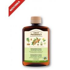 Green Pharmacy masážny olej 200 ml - Spevňujúci telový