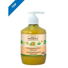 Green Pharmacy tekuté krémové mydlo - chráni pokožku 460 ml - Rakytník a lipa