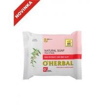 O`Herbal prírodné mydlo s extraktom Goji a červenou hlinou 100 g