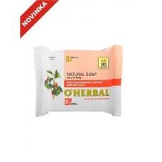 O`Herbal prírodné mydlo s extraktom Lesné jahody a červenou hlinou 100 g