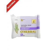 O`Herbal prírodné mydlo s extraktom Levanduľa a bielou hlinou 100 g