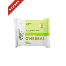 O`Herbal prírodné mydlo s extraktom Verbena a zelenou hlinou 100 g
