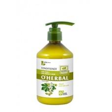 O' Herbal kondicionér pre kučeravé a nepoddajné vlasy s extraktom z chmeľu 500 ml