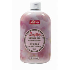 Milva Sensitive Bamboo sprchový gél 300 ml