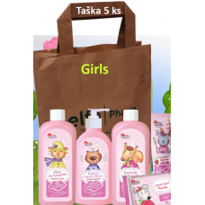 Pink Elephant darčeková taška 5 ks pre dievčatká
