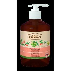 Green Pharmacy tekuté mydlo - vyživuje pokožku 460 ml - Olivy a goji